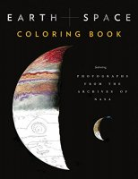 Earth & Space Colouring Book