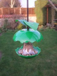 Green Apple Fruity Bird Feeder