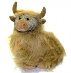 Fergus Highland Cow Door Stop