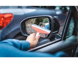 Car Mirror Squeegee Set
