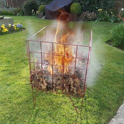 Easy to Assemble Garden Incinerator