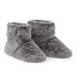 Faux Fur Microwavable Slippers