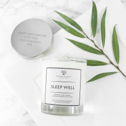 Personalised Sleep Well Candle