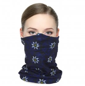Royal Blue Snood Lifestyle Bandana