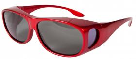 Polarised Overglasses - Red Sports Style
