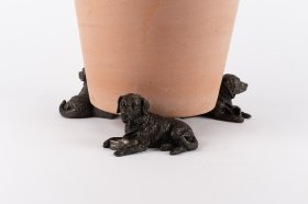 Potty Feet Bronze Resting Labrador (3)