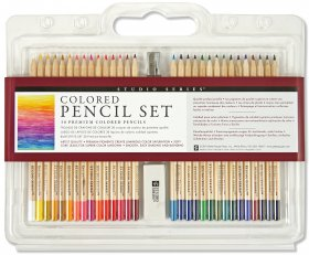 30 Piece Colouring Pencil Set