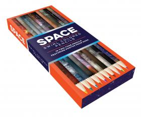 Space Swirls Two-Tone Pencils (10 pencils)