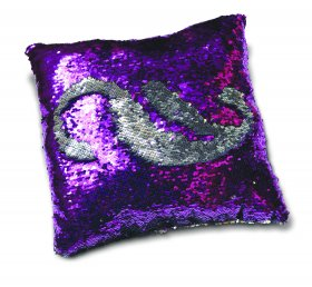Mermaid Cushion - Purple