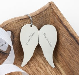 Personalised Memory Angel Wings
