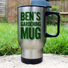 Personalised Thermal Gardening Mug