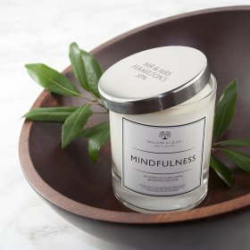 Personalised Mindfulness Relaxation Candle