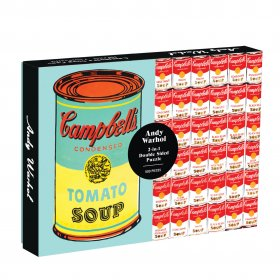 Andy Warhol Soup Can 2-Sided Jigsaw Puzzle