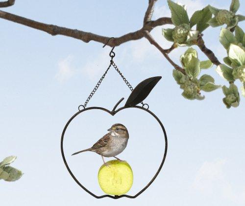 Apple Bird Feeder