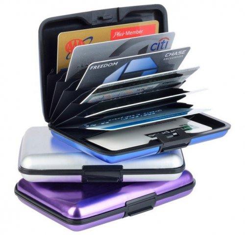 RFID Card Holder: RFID Card Holder Purple